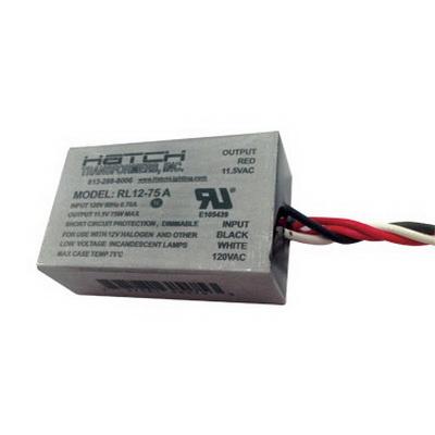 Hatch Transformers 75 Watt Hardwire Electronic Transformer Vs12