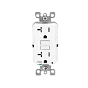 Leviton GFWT2-W Residential Grade Slim Tamper And Weather