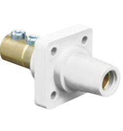 leviton 16r22 w 1 pole cam type taper nose 90 degree panel [ 2000 x 2000 Pixel ]