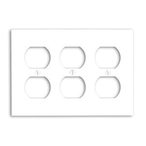 Mulberry 86103 Steel Standard Size 3-Gang Wallplate 3