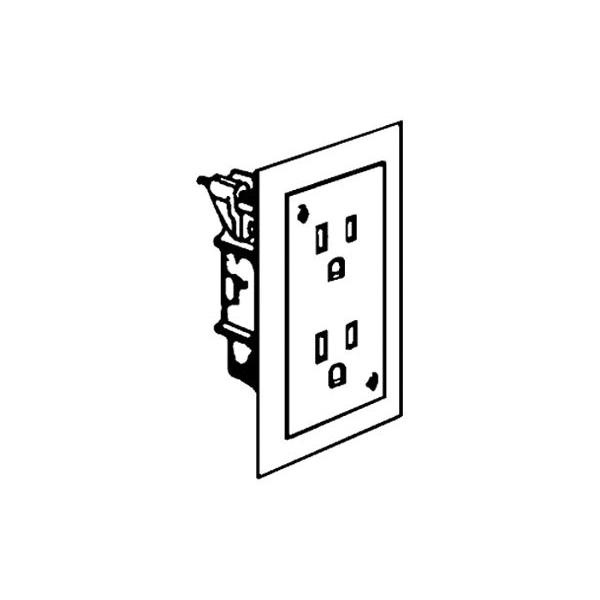 a duplex receptacle wiring illustration