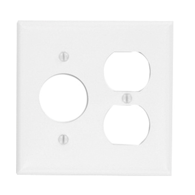 Leviton 88046 Painted Metal 2-Gang Standard Size