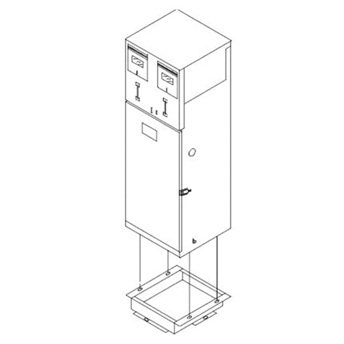 Crouse-Hinds MEUG-24D-M100/M100-SCE 1-Phase Meter Socket