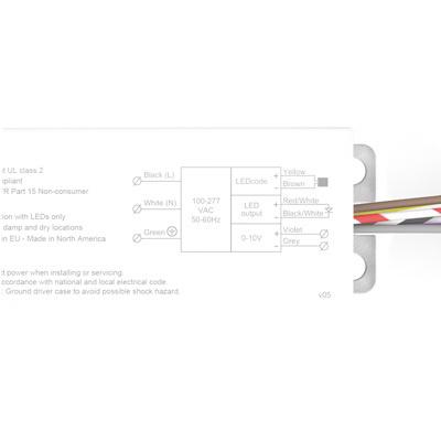 Osram Sylvania OT25W/PRG1250C/UNV/DIM/J Constant Current