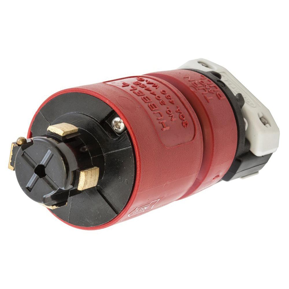 medium resolution of hubbell wiring hbl20445b 4 wire 3 pole locking plug 480 volt ac