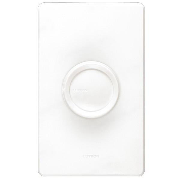 Lutron D 600p Wh 120 Volt At 60 Hz 1 Pole Rotary Preset