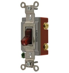 hubbell wiring hbl1221ilr 120 277 volt ac 20 amp 1 pole [ 1200 x 1200 Pixel ]
