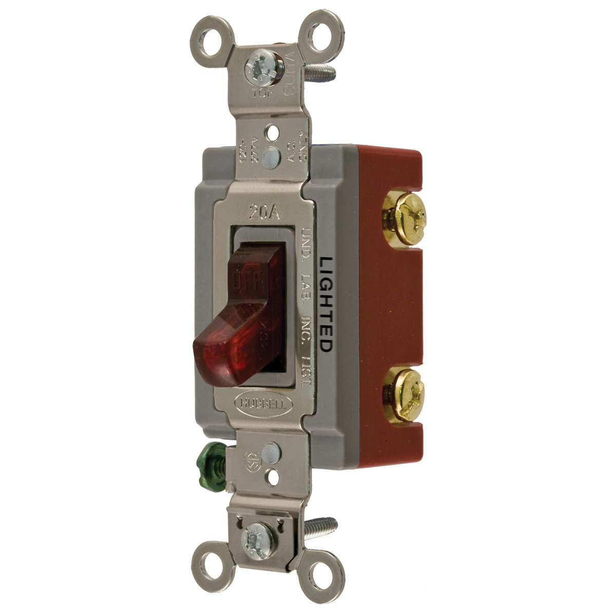 hight resolution of hubbell wiring hbl1221ilr 120 277 volt ac 20 amp 1 pole