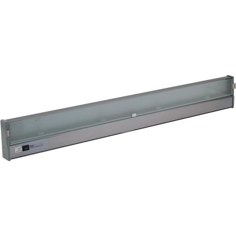 medium resolution of nsl xtl 4 hw al 4 light hardwire wedge base task light 18 watt 110 volt ac aluminum under cabinet puck lights indoor fixtures lighting lighting