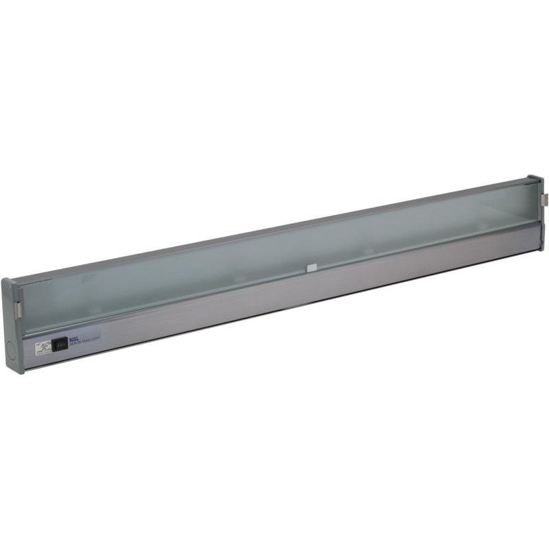 hight resolution of nsl xtl 4 hw al 4 light hardwire wedge base task light 18 watt 110 volt ac aluminum under cabinet puck lights indoor fixtures lighting lighting