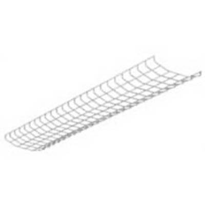 Cooper Lighting WG/SNF-4FT-B Steel Wire Guard 4-ft Baked