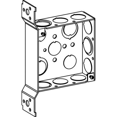 Orbit Industries 4SB-MKO-FB 16 Gauge Sheet Steel Square