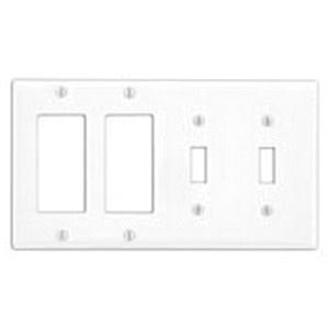 Leviton P2262-W Painted Metal Device Mount Standard Size