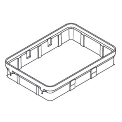 Hubbell-Wiring PG4872EA12 Concrete Polymer Open Base PG