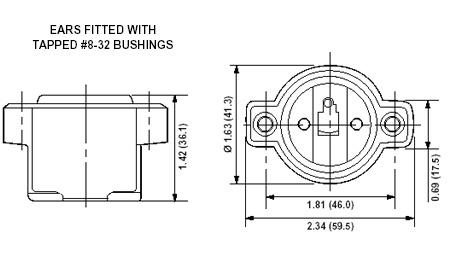 Leviton 9885 1-Piece 1-Circuit Keyless Incandescent