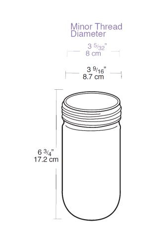 Rab GL100G Cylindrical Round Bottom Vaporproof Globe