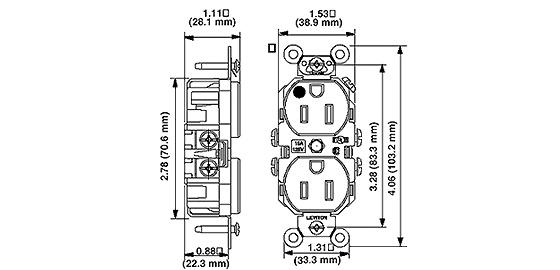 [DIAGRAM] Nema 5 20r Receptacle Wiring Diagram FULL