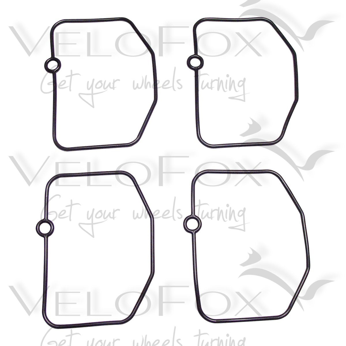 TourMax Carb Float Chamber Gaskets fits Yamaha TZR 250