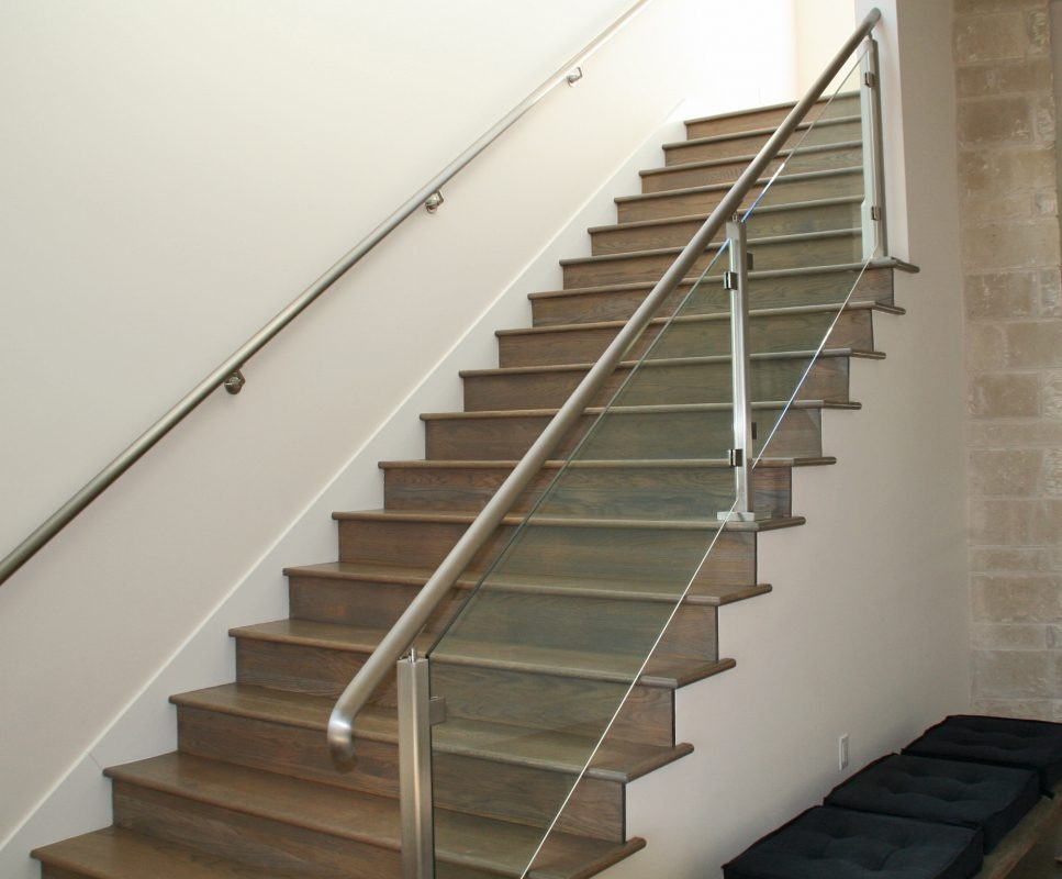 Glass Handrail Systems Residential Gallery Anchor | Glass Balusters For Stairs