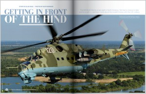 Getting in front of the Hind