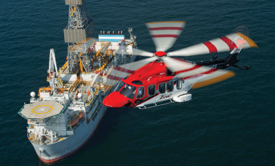 Finmeccanica helicopter division's AW189 is the latest addition to the Era fleet supporting the oil-and-gas industry in the Gulf of Mexico (GoM). As the largest global operator of Finmeccanica helicopters, including the AW119, AW109 and AW139, Era Group also has the distinction of being the launch customer for the AW189 in the Americas. Dan Megna Photo