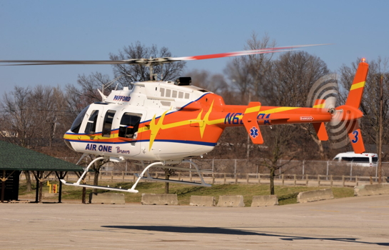 All of Bell's production helicopters, including the Bell 407, are equipped with CRFS. However, some older Bell aircraft are still flying without CRFS, despite the availability of retrofit kits. Skip Robinson Photo