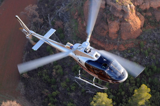 A crash-resistant fuel system retrofit kit for the AS350 B3e (H125) is now available to order, although kits for older models of the AS350 will not be available until later this year. Airbus Helicopters Photo