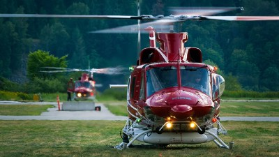 A couple of Bell fire trucks being dispatched in the B.C. Kootenays.