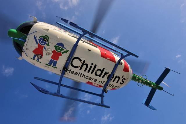 CHOA's distinctive mascots,