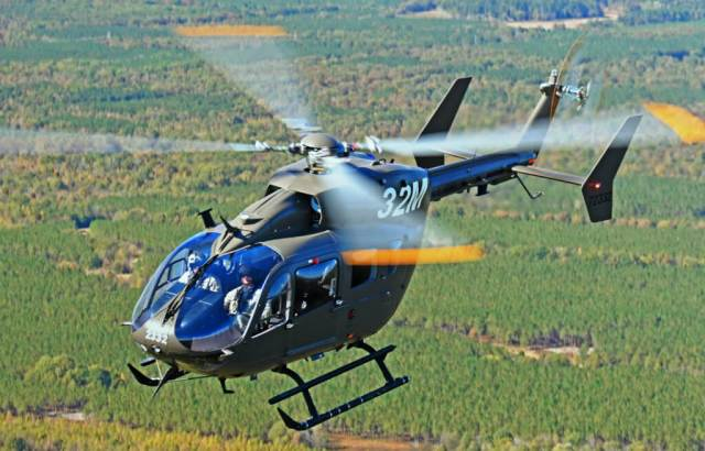 A Texas-based Airbus Group affiliate will provide spares, material and engineering support to the U.S. Army and National Guard units operating Lakota helicopters. Airbus Photo