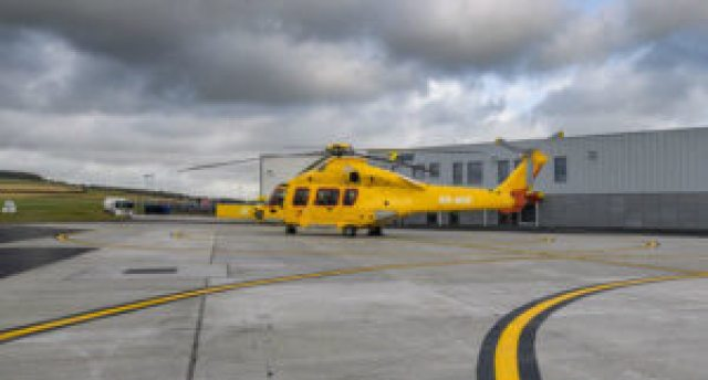 NHV will support this project utilizing the state-of-the-art Airbus Helicopters H175 aircraft, which is specifically designed to meet evolving mission needs in the oil-and-gas industry. NHV Photo