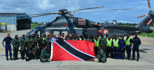 The Trinidad and Tobago Air Guard operates four AW139 helicopters, and has expanded its capabilities and its achievements in the decade since it was formed out of the Coast Guard Air Wing. HAI Photo