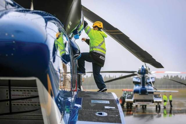 Cougar's maintenance team provided their input as to what would make their lives easier in the design of the new hangar, resulting in an extremely comfortable and intuitive working environment. Heath Moffatt Photo