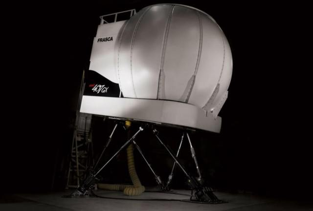 ATCL will house the latest of a growing number of helicopter simulation devices in Canada. Frasca Photo