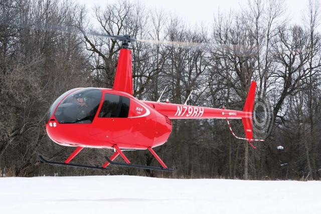 UND recently took delivery of its first R44 Cadet.