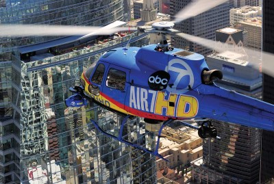 With all of Southern California to cover, Air 7 HD could be working a story over downtown L.A. and 20 minutes later be covering a story in the mountains of the Angeles Forest.