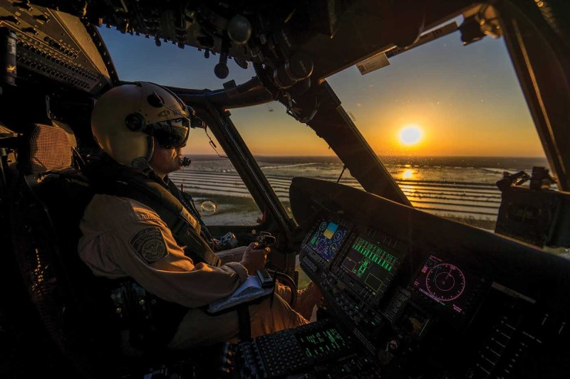 The CBP's Air and Marine Operations has a fleet of around 240 aircraft, including six different helicopter types — providing plenty of opportunities for pilots to transition between aircraft if they so choose. Edwin Montufar Photo