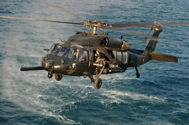 Helinet put together a list of items required to emulate the look of a special operations MH-60M, and that would appeal to directors, producers, and production companies. Brainerd Helicopters made that list a reality. Skip Robinson Photos