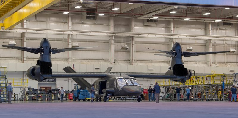 Bell has completed the V-280 Valor prototype, and will now begin ground tests with the third-generation tiltrotor. Bell Helicopter Photo