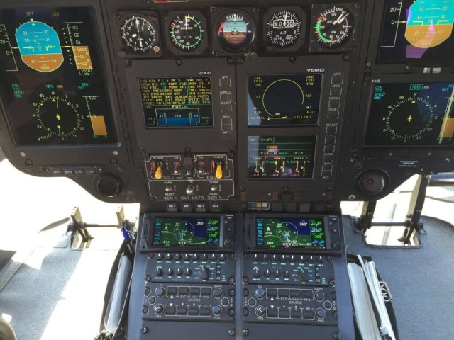 The first installation of PS Engineering's PAC45 was completed by Complete Avionics in an EC135. PS Engineering Photo