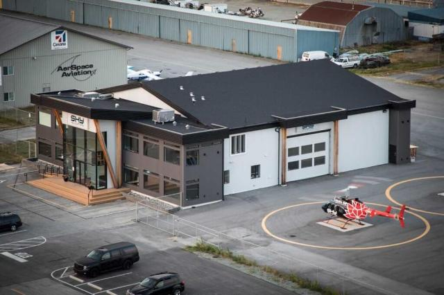 The company operates out of a 10,000-square-foot hangar at Pitt Meadows Regional Airport that doubles as an events space. Heath Moffatt Photo