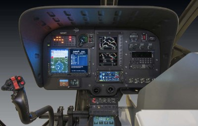 Aero Dynamix, Inc. completed certification and installation of a night vision imaging system modification on AMRG's new Airbus H130. Aero Dynamix Photo