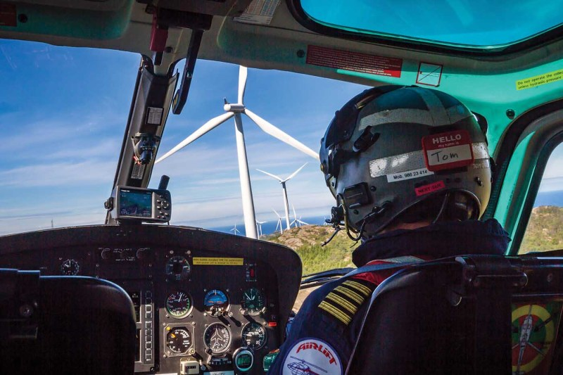 The first offshore wind farm was built off the coast of Denmark in 1991. The use of wind turbines as a source of energy has climbed slowly, but steadily, around the world. Øystein Svendsen/Tom A. Østrem Photo