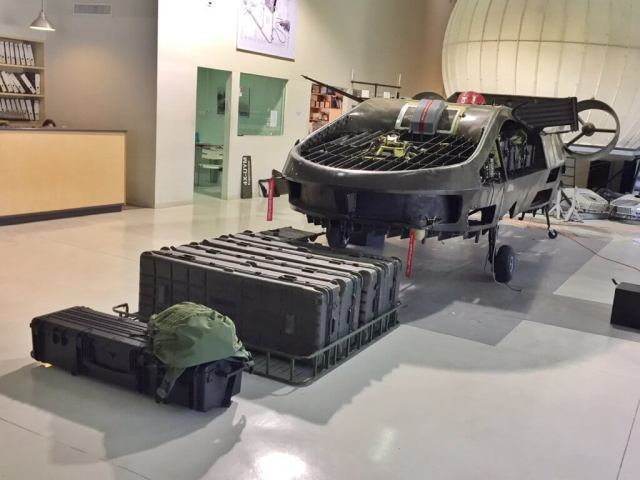 TRL in the process of installing the Safran Helicopter Engines Arriel 2 engine on its Cormorant cargo and medical evacuation UAV. TRL Photo