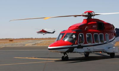 The super-medium AW189 is the first large helicopter in Australia to be designed to MSG-3 processes, providing greater reliability and less maintenance man-hours. CHC Helicopter Photo