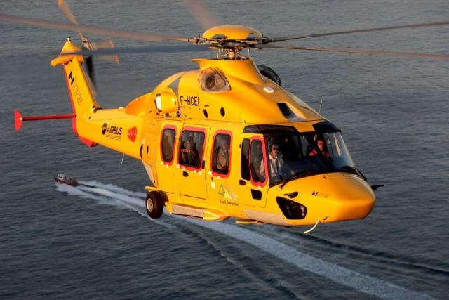 The production rate is increasing at the H175 assembly line in Marignane, France.