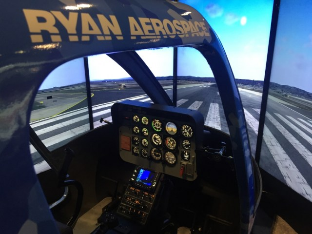 Ryan Aerospace specializes in the design and manufacture of high quality helicopter simulator training platforms for military, civil and emergency services applications. Ryan Aerospace Photo