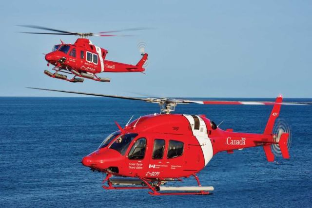 There are now 15 Bell 429s and seven 412EPIs in the Coast Guard fleet, operating from nine permanent bases, as well as from icebreakers in the Arctic during the summer months. Mike Reyno Photo