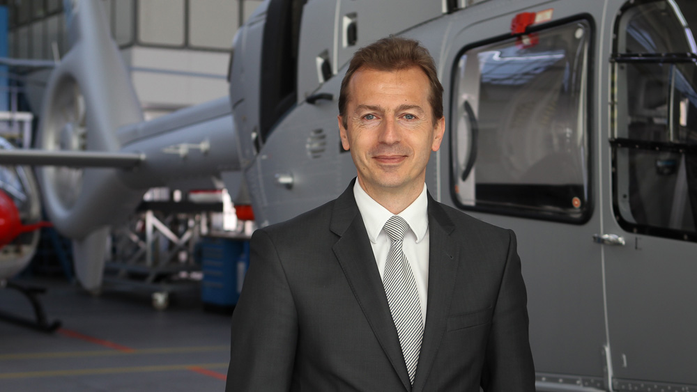Faury will move over to the Airbus Commercial Aircraft business as president, starting February 2018. Airbus Helicopters Photo