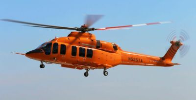 The first prototype of the Bell 525 Relentless crashed on July 6, 2016, halting flight testing on the program for over a year while the investigation into the accident continued. Sheldon Cohen Photo